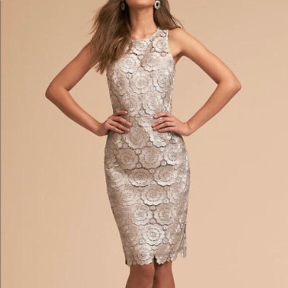 Anthropologie Dresses & Skirts - BHLDN Emmeline Dress NEW floral lace wedding 6